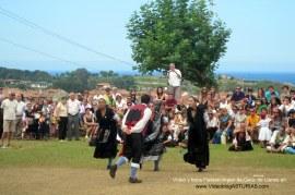Fiestas de Virgen de Guia, en Llanes: Xiringuelu