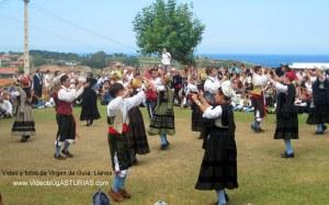 Fiestas de Virgen de Guía en Llanes: Jota del Cuera