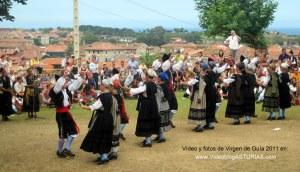Fiestas de Virgen de Guía en Llanes: Pericote