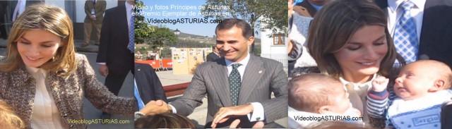 Principes Asturias en Pueblo ejemplar de Asturias San Tirso 2011
