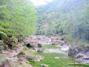 Video y fotos Hoya San Vicente y rio Dobra: Pozas y saltos de agua