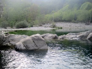 Hoya San Vicente, rio Dobra: Piscina natural
