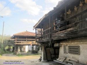 Bueño (Ribera de Arriba)  pueblo ejemplar Asturias 2012: Panera siglo XVII