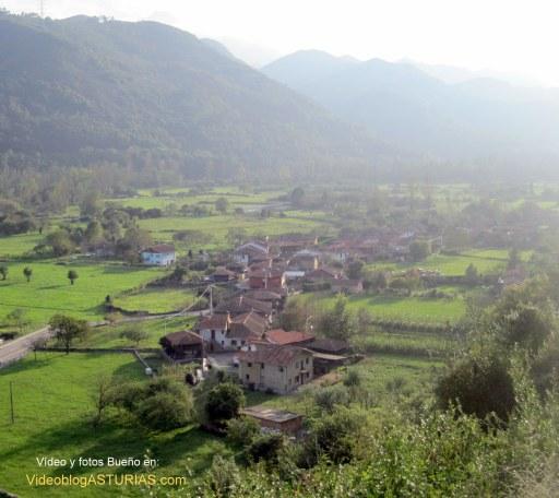 Bueño (Ribera de Arriba), pueblo ejemplar de Asturias 2012: Vistas