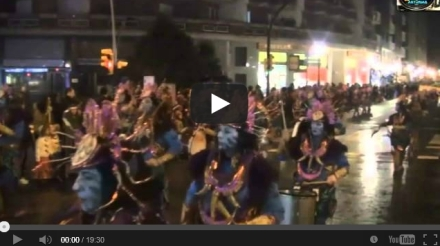 Carnaval Antroxu Gijon 2013: Video y fotos