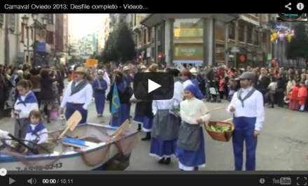 Video y fotos Carnaval Oviedo 2013 antroxu